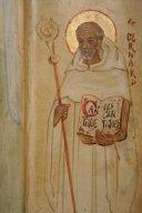 Saint Bernard - Enluminure représentant Saint Bernard